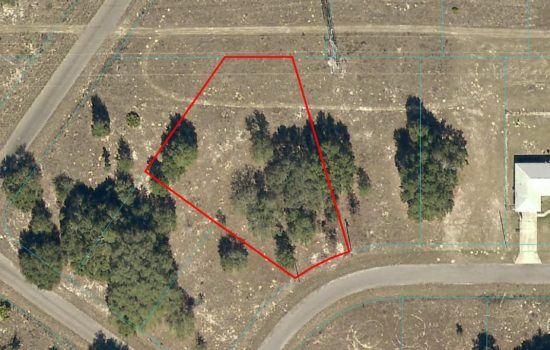 Grab this level lot ideally located in Central Florida! 0.53 acres Ocala, FL