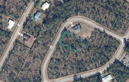 0.4 acre lot to build your golf getaway in Sunny Hills—only $3800!